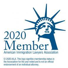 American Immigration Lawyers Association (AILA) Logo 2020 | Jarecki Law Group, LLC